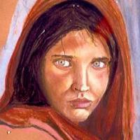 Portraits - Portrait From National Geographic - Pastels