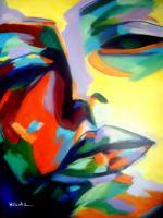 Colorful Energy - Drifting Into A Dream - Sold - Acrylic On Canvas