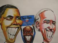 That Guy - Obama Biden - Colored Pencil  Paper