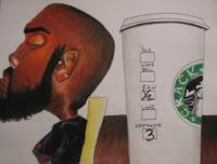 That Guy - Just Say No - Colored Pencil  Paper