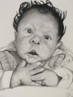 Black And White - Baby Easter - Charcoal