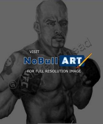 Sports Art - Jorge Rivera - Graphite