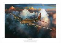 Last Flight For Nine-O-Nine - Oil On Canvas Paintings - By Randy Green, Realism Painting Artist