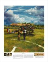 Limited Edition Prints - First Landing - Shepherds Field June 17 1923 - Oil On Canvas