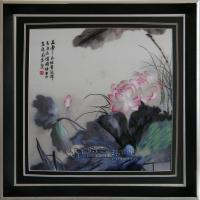 Collection - Chinese Needle Painting Hand Embroidery On Silk Lotus - Hand Embroidery
