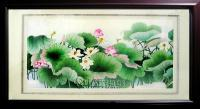 Collection - Su Embroidery Lotus Needle Paintings - Hand Embroidery