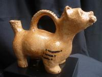 Vessel Collection - Dog Vessel - Ceramic
