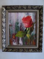 Art Gallery - Rose - Oil On Canvas