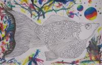 Crhs - Neon Fishy - Ink