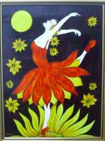2013 - Ballet With Sunflowers - Special Colors For Painting On