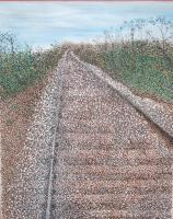 1 - On The Right Track - Acrylic