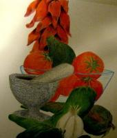 Still Life - Chili Fix - Colored Pencil