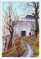 Landscapes - Medieval Gate - Watercolor