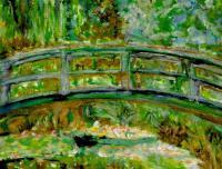 Garden At Giverny - Monets Bridge Col 2 - Digital