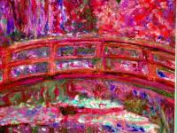 Monet - Monets Bridge - Digital