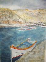 Watercolors - Malta - Watercolor