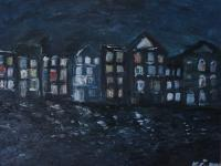 In The Dark - Amsterdam - Oil On Canvas
