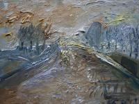 Urbanistic - Riverside - Oil On Canvas