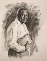 Portraits - The Preacher - Charcoal