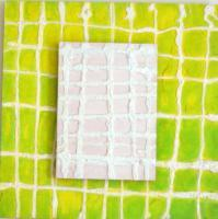Grids - Double Grid - Panel Sand Acrylic Paint