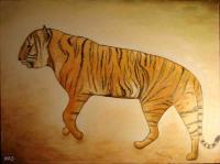 Whimsical Animals - Mystic Tiger - Oil