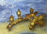 Macro-Landscapes - Look What Washed Up - Oil