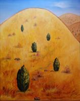 Landscapes - Yellow Mountain - Oil
