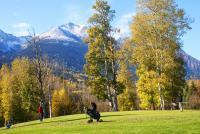 Bulkley Valley Scenes - Autumn On 9Th Green - Photo