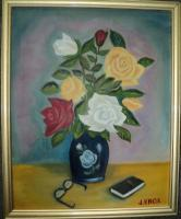 2013 - Flowers - Oil On Canvas