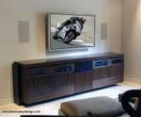 Ht - Home Theater Console - Custom Woodwork