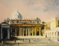 Cityscapes - St Peters Study No 2 - Oil