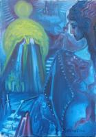Artist Collection - The Angel Of Transformation - Oil On Canvas