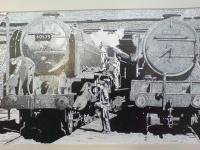 The Man With The Oil Can - Penink Drawings - By Andy Davis, Drawing Drawing Artist