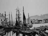 Realism - Whitby Harbour  1800S - Penink