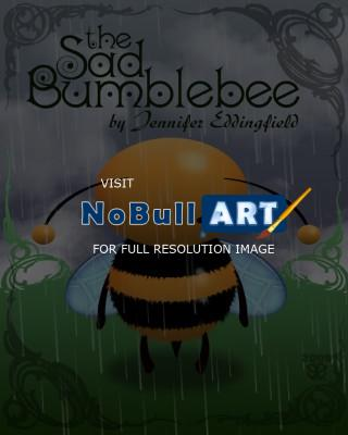 Childrens Book Illustrations - The Sad Bumblebee - Photoshop