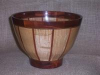 Bowls - Compound Stave Tall Bowl - Wood