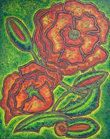 Decorative Life - Decorative Flowers - Acrylic
