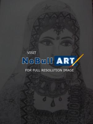 shweta gwalani charm of indian bride pencil sketching drawings nobullart art gallery