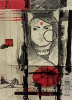 Art Works - Camera - Mixed Media On Paper
