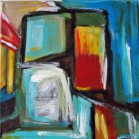 Abstracts - Inside Spaces - Acrylic On Canvas