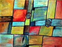 Abstracts - Are We There Yet - Acrylic On Canvas