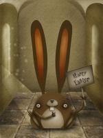Illustration - Easter Bunny - Digital Art