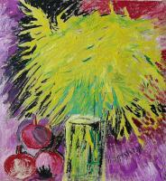 Art-21 - Still Life - Mimoza - Oil On  Canvas