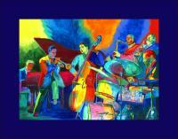 Jazz - Invitation To A Jazz Party - Watercolor