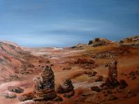 Gallery 1  Landscapes - Rocks At Petra - Oil