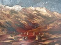 Gallery 1  Landscapes - Castlerigg Stone Circle - Oil