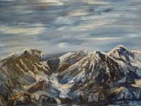 Gallery 1  Landscapes - Dinorwig Slate Quarry Llanberis - Oil
