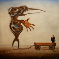 Surrealism - Fatale Situation - Oil