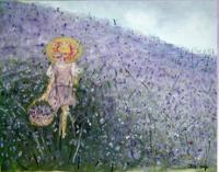 2007 - Purple Field - Canvasoil