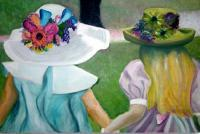 2007 - Girls At Easter - Canvasoil